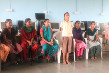 Secondary students at Mangaon School telling us of their career aspirations from engineering to architecture.