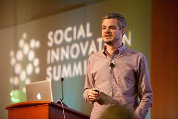 Social Innovation Summit speaker Scott Harrison of charity:water