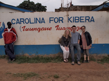 Outside of the CFK office in Kibera. Celebrating its 10th anniversary this year, CFK programs have impacted more than 55,000 people.