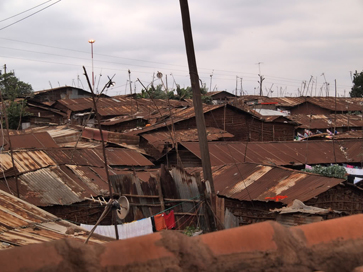 Kibera is one square mile. Its population is estimated between 170,000 and 1,000,000 people. The average daily income is $1.25. (Photos by Rebecca Shearin)