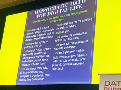 Hippocratic Oath for a Digital World: Insights From SSIR's