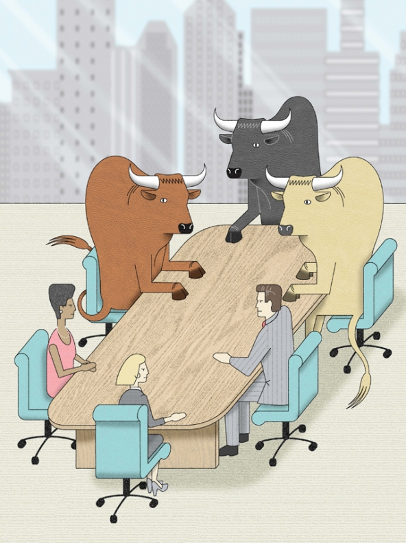 Wall_Street_takeover_nonprofit_boards_bulls