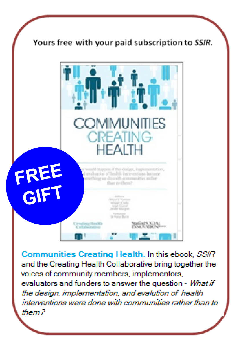 Communities Creating Health eBook cover